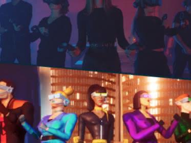 Dessin et photo des personnages du jeu Icecube Protocol du Koezio Cergy dans le Val d'Oise