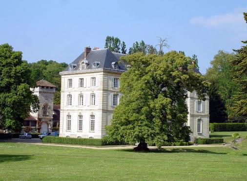 Château d'Hérivaux à Luzarches