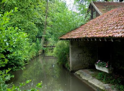 Visite guidée : Le Sausseron, la vallée des moulins
