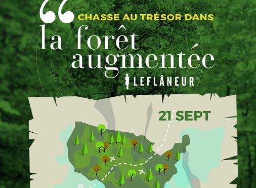 Chasse au trésor en forêt de Montmorency