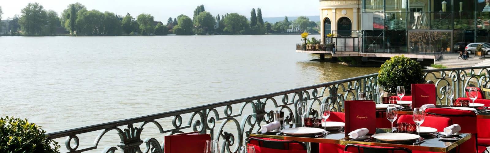 Terrasse du Fouquet's d'Enghien-les-Bains