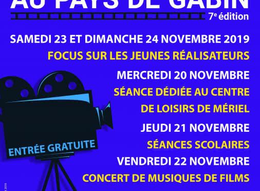 Mériel 7ème festival du court-métrage au pays de Gabin
