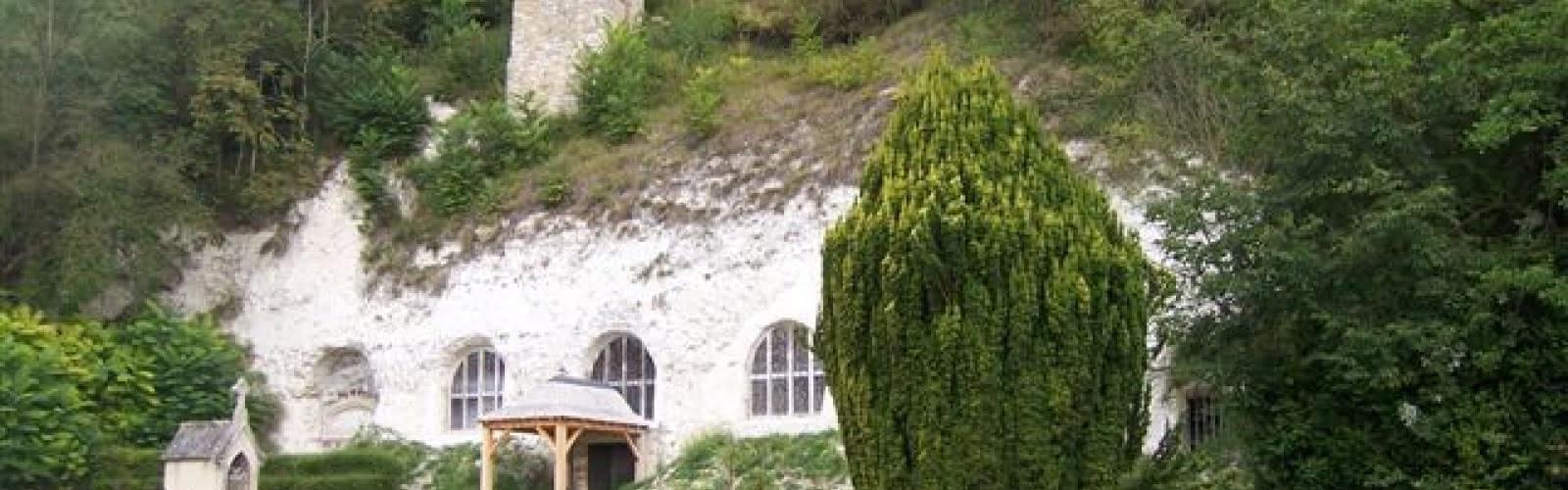 Eglise trogloditique - Haute-Isle