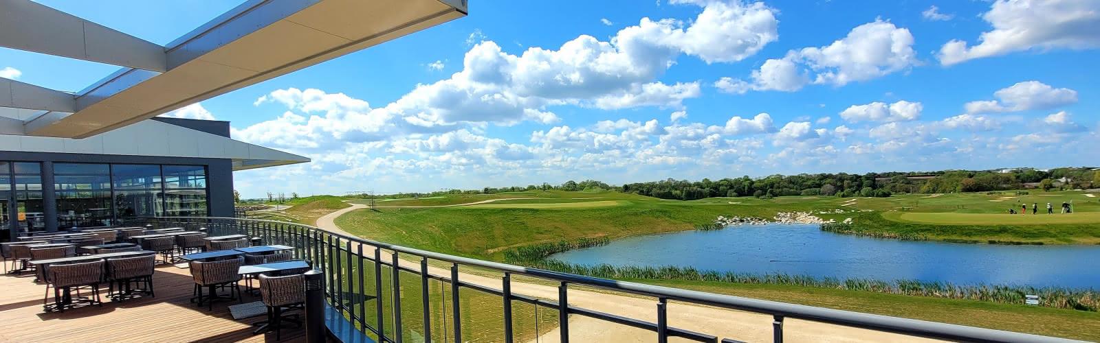 terrasse du restaurant du golf