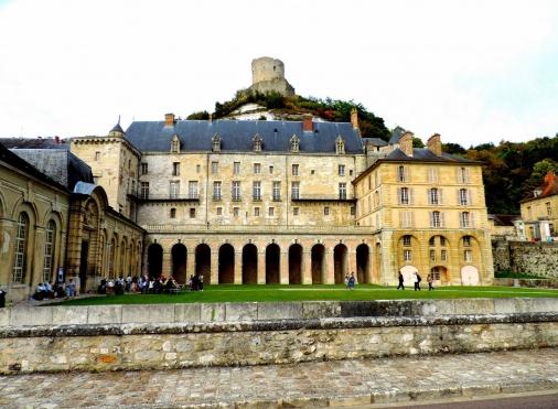 Le potager fruitier du château de La Roche-Guyon