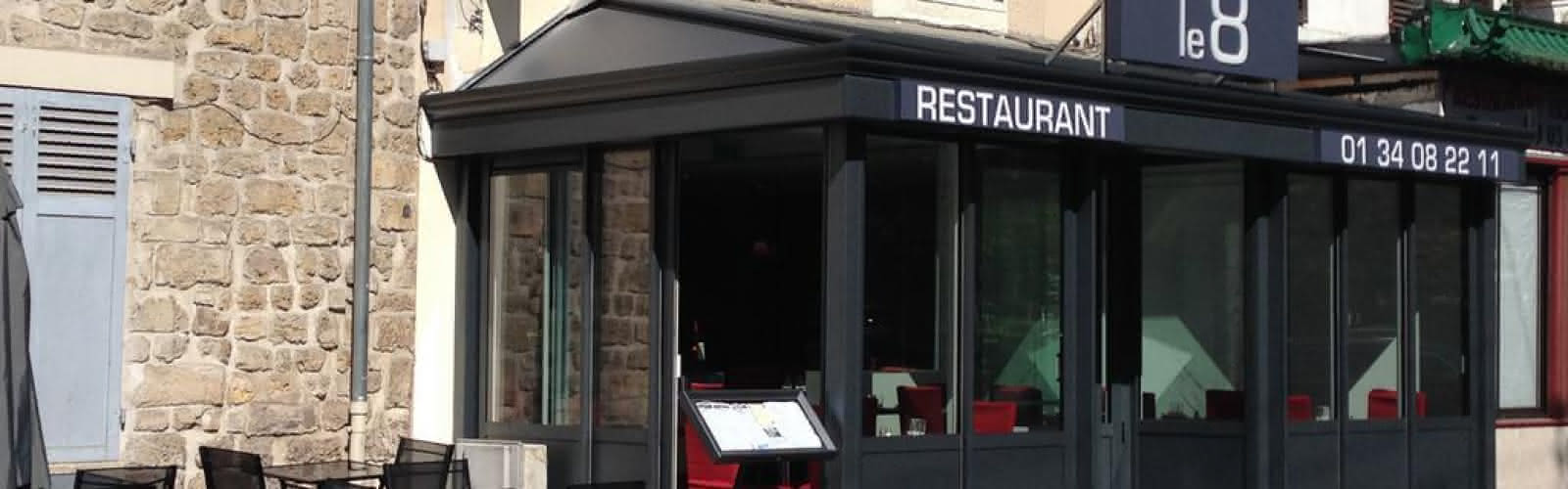 Façade du restaurant Le 8