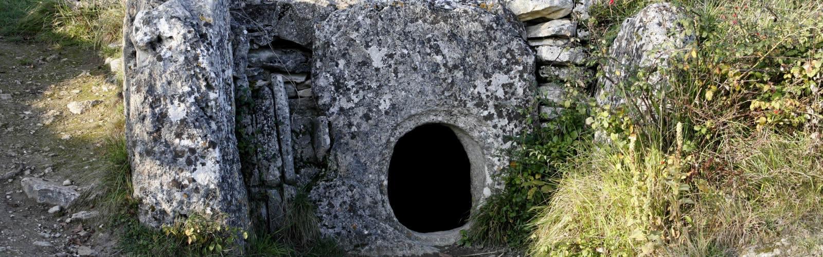 Allée couverte du Bois-Couturier - Bois de Morval - Guiry-en-Vexin