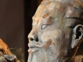 Photo exposition Xi An au musée archéologique de Guiry en Vexin
