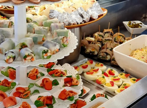Buffet d'entrées du midi