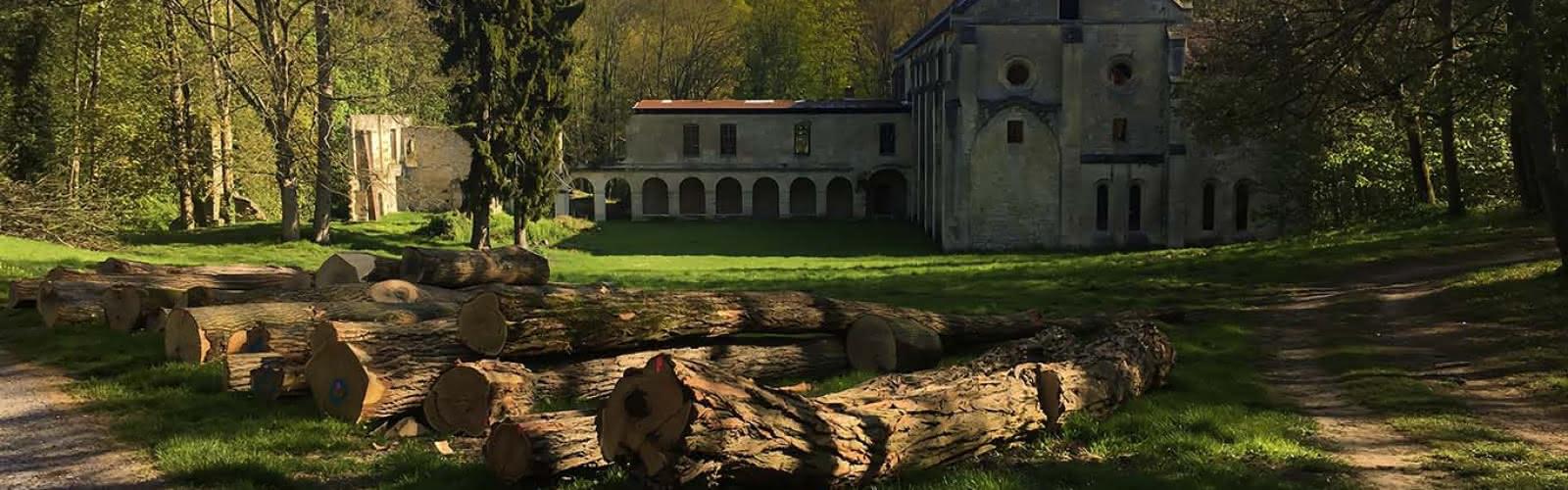 extérieur abbaye du Val