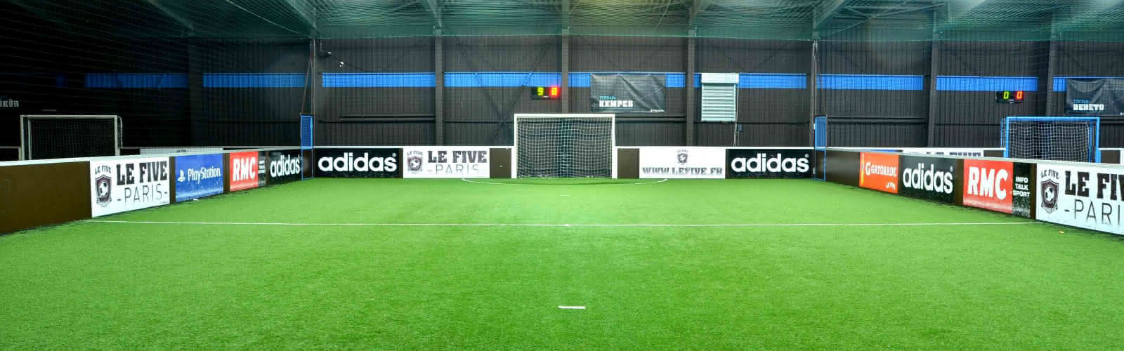 Le Five, terrain de football en gazon synthétique, ouvert à tous, différents lieux en Ile-de-France 2016