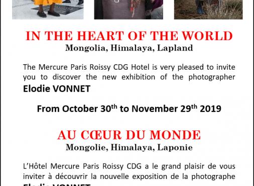 Exposition Au coeur du monde