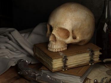 Photo d'un décor sur le thème pirate