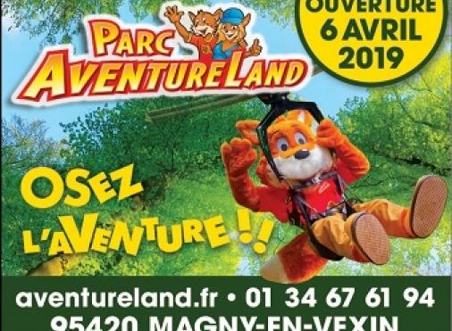 Réouverture du Parc Aventure Land