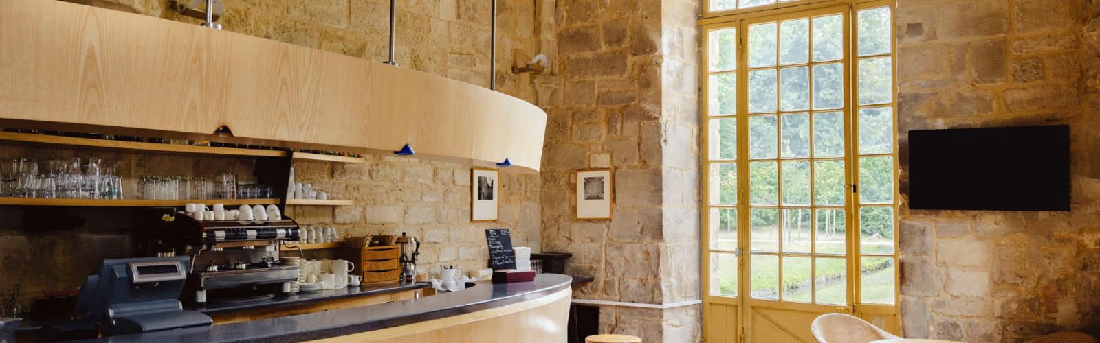 Bar & salon de thé à Royaumont