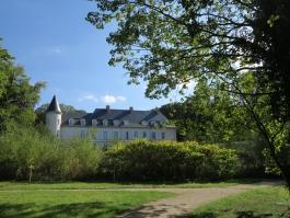 Le parc du Château de  Menucourt