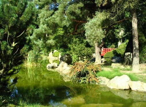 Le jardin japonais et le parc de la Bucaille à Aincourt