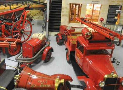 Val d'Oise firemen museum