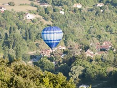 Vol en Montgolfière au dessus du Vexin © Montgolfières du Vexin