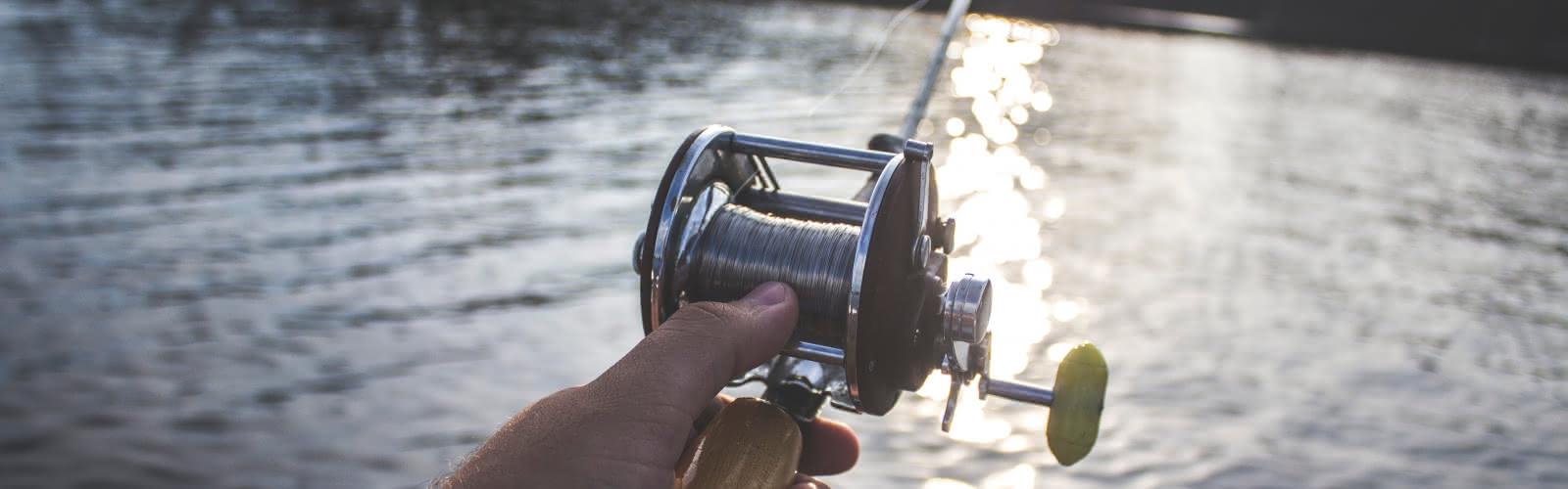 Pêche sur le lac d'Enghien-les-Bains