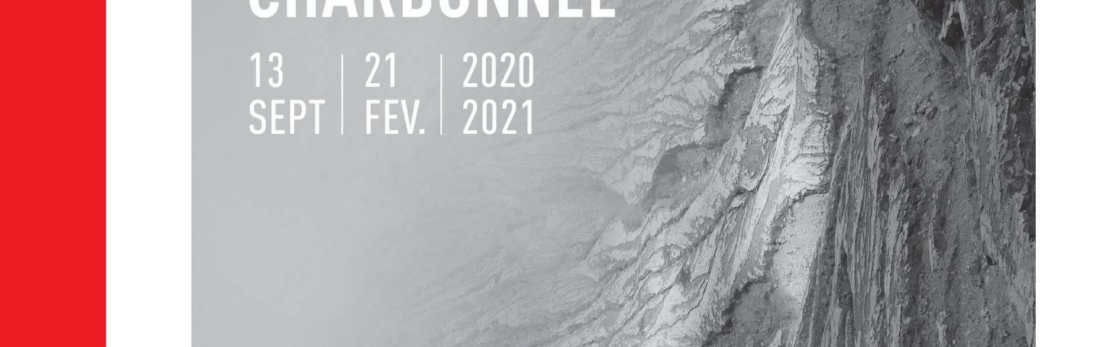 Affiche de l'exposition 'Geoscopia' de Charlotte Charbonnel