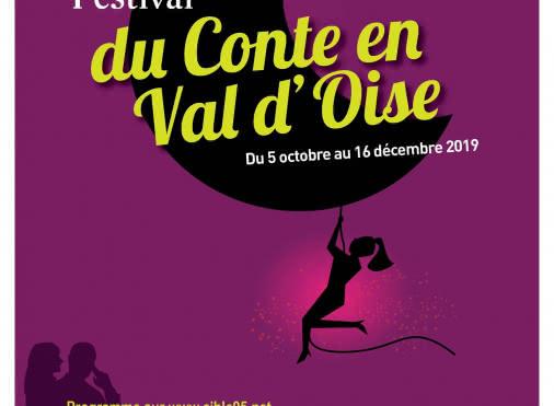 Affiche Festival du conte en Val d'Oise 2019