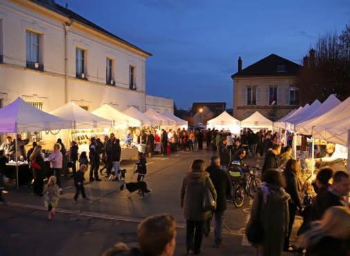 Marché  de noël d'Auvers-sur-Oise