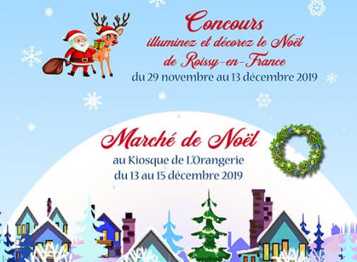Marché de Noël de Roissy-en-France