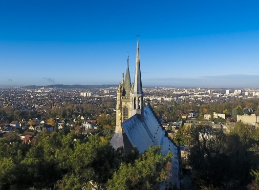 Visites audioguidées Tour d'Horizon depuis le clocher de la Collégiale Saint-Martin de Montmorency