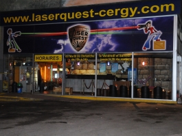 Laser Quest Cergy