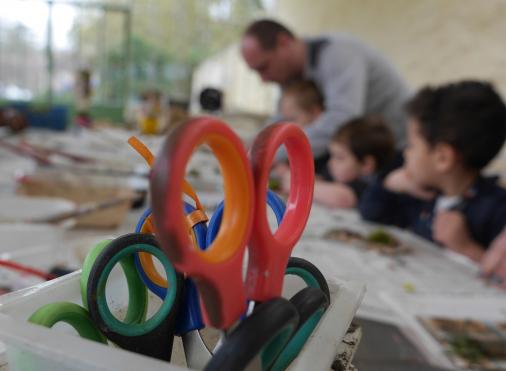 Atelier Danse de 5 enfants avec Mathilde Vrignaud