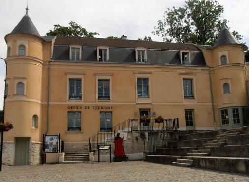 entrée principale du bureau d'information touristique