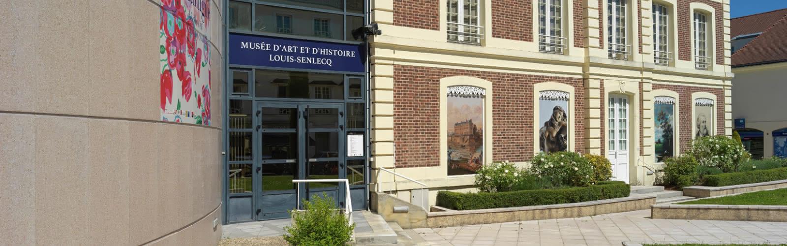 Entrée du Musée Louis Senlecq