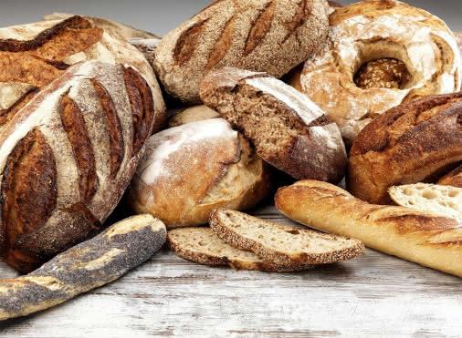 pain de son, de seigle, aux céréales, pain de campagne et baguette