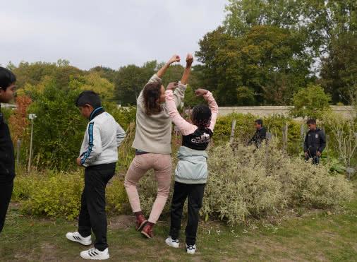 Danse enfants avec Mathilde Vrignaud - 28 septembre 2018 - Royaumont FM