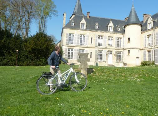 Location de vélos à la Maison du Parc (Théméricourt)