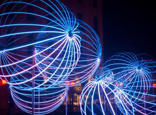 Spectacle Lumières d'hiver