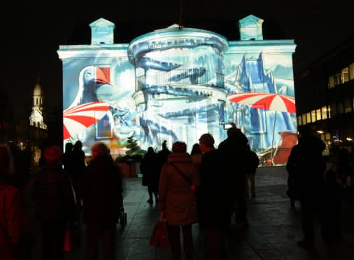 Les projections monumentales