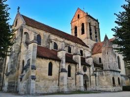 Eglise et cimetière d'Auvers