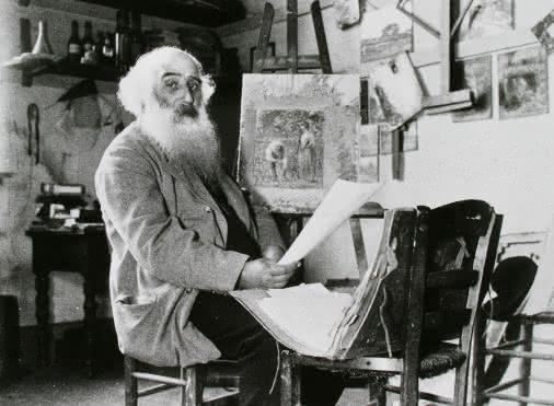 Sur les traces de Pissarro, Cézanne, Gauguin.....