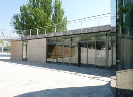 The Tourist Office of Cergy-Pontoise, Vexin entrance